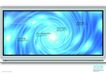 电子产品0035,电子产品,版式设计,绿色光斑 蓝色漩涡 宽屏电视