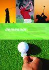 运动0074,运动,版式设计,潇洒时光 休闲运动 白色高尔夫球