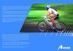运动0078,运动,版式设计,蓝色外框 自行车运动 捕捉镜头