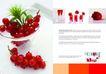 餐饮0154,餐饮,版式设计,樱桃 橘黄 水果