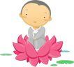 其他纪念日0015,其他纪念日,节日喜庆,莲花 莲池 打坐