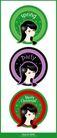其他纪念日0038,其他纪念日,节日喜庆,绿色春天 紫色聚会 红色圣诞节