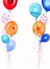 其他节日0004,其他节日,节日喜庆,气球 升起 飘浮