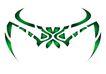 图纹0157,图纹,节日喜庆,绿色 设计 纹身