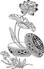 竹子荷花植物0025,竹子荷花植物,节日喜庆,盆栽 种植 生长