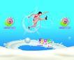 伊利0002,伊利,精品广告设计,跨越 梦想 冲击