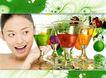 化妆护肤品0056,化妆护肤品,精品广告设计,水果 清爽 美白