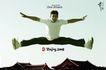 奥运0004,奥运,精品广告设计,劈腿 跨越 屋顶