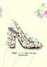 服装0046,服装,精品广告设计,女式 镶珠 高跟鞋