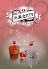 酒0027,酒,精品广告设计,音乐 听觉 感受