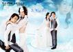 浪漫柔情模板20075,浪漫柔情模板2,浪漫柔情模板,摩登爱人 蕾丝纱衣 白长裙