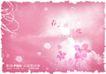 浪漫柔情模板30074,浪漫柔情模板3,浪漫柔情模板,暖春 粉色调 烂漫春花