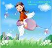 企业人物0015,企业人物,人物,鼠标 翅膀 飞翔