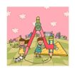 儿童学校0019,儿童学校,人物,圆规 数学 三角板