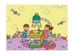 儿童学校0022,儿童学校,人物,漫画 想象 绘画