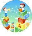 儿童校园生活0006,儿童校园生活,人物,监督 学习 功课