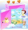 儿童校园生活0020,儿童校园生活,人物,符号 美术 音乐