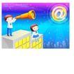 儿童校园生活0033,儿童校园生活,人物,城市夜晚 望远镜 繁星