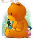 儿童梦幻0004,儿童梦幻,人物,拥抱 布偶 棕熊