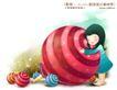 儿童梦幻0017,儿童梦幻,人物,棒棒糖 甜食 梦幻