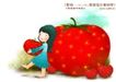 儿童梦幻0028,儿童梦幻,人物,水果 成熟 丰收