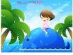 儿童生活0024,儿童生活,人物,游玩 嬉戏 大自然