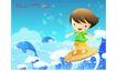 儿童生活0025,儿童生活,人物,娱乐 游戏 快乐