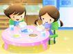 儿童生活0048,儿童生活,人物,餐桌 营养 补充
