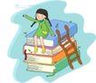 儿童科技0002,儿童科技,人物,攀登 知识 顶峰