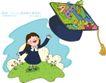 儿童科技0027,儿童科技,人物,帽子 学生 服装