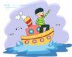 儿童科技0029,儿童科技,人物,波浪 风浪 大海