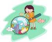 儿童科技0043,儿童科技,人物,放大 扩宽 视野
