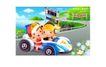儿童运动会0010,儿童运动会,人物,驾车 卡通 跑车