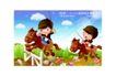 儿童运动会0013,儿童运动会,人物,骑马 比赛 跨栏
