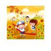 儿童运动会0016,儿童运动会,人物,向日葵 跑步 终点