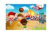 儿童运动会0048,儿童运动会,人物,篮球 争夺 传球