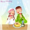 冬日恋人0043,冬日恋人,人物,干杯 手握 红酒