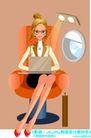办公女郎0006,办公女郎,人物,班机 贵宾 坐席
