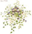 单朵艳丽配色花纹0004,单朵艳丽配色花纹,人物,草叶 碎片 蓝花