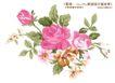 单朵艳丽配色花纹0052,单朵艳丽配色花纹,人物,红牡丹 画景集 芳香