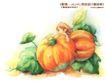 卡通儿童女孩与花0016,卡通儿童女孩与花,人物,南瓜 蔬菜 搬运