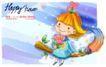 可爱儿童0021,可爱儿童,人物,花朵 单纯 可爱