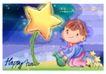 可爱儿童0022,可爱儿童,人物,纯真 天真 浇花