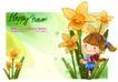 可爱儿童0027,可爱儿童,人物,阳光 雨露 浇灌