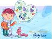可爱儿童0041,可爱儿童,人物,毛毛虫 对话 爬行