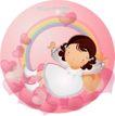 可爱小女孩0206,可爱小女孩,人物,彩色 欢喜 甜蜜