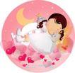 可爱小女孩0208,可爱小女孩,人物,星星 睡眠 美丽