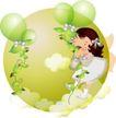可爱小女孩0209,可爱小女孩,人物,绿叶 藤 天堂