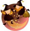 可爱小女孩0223,可爱小女孩,人物,魔法 月亮船 儿童