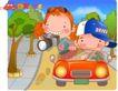 可爱胖女孩0008,可爱胖女孩,人物,驾车 拍照 沿途